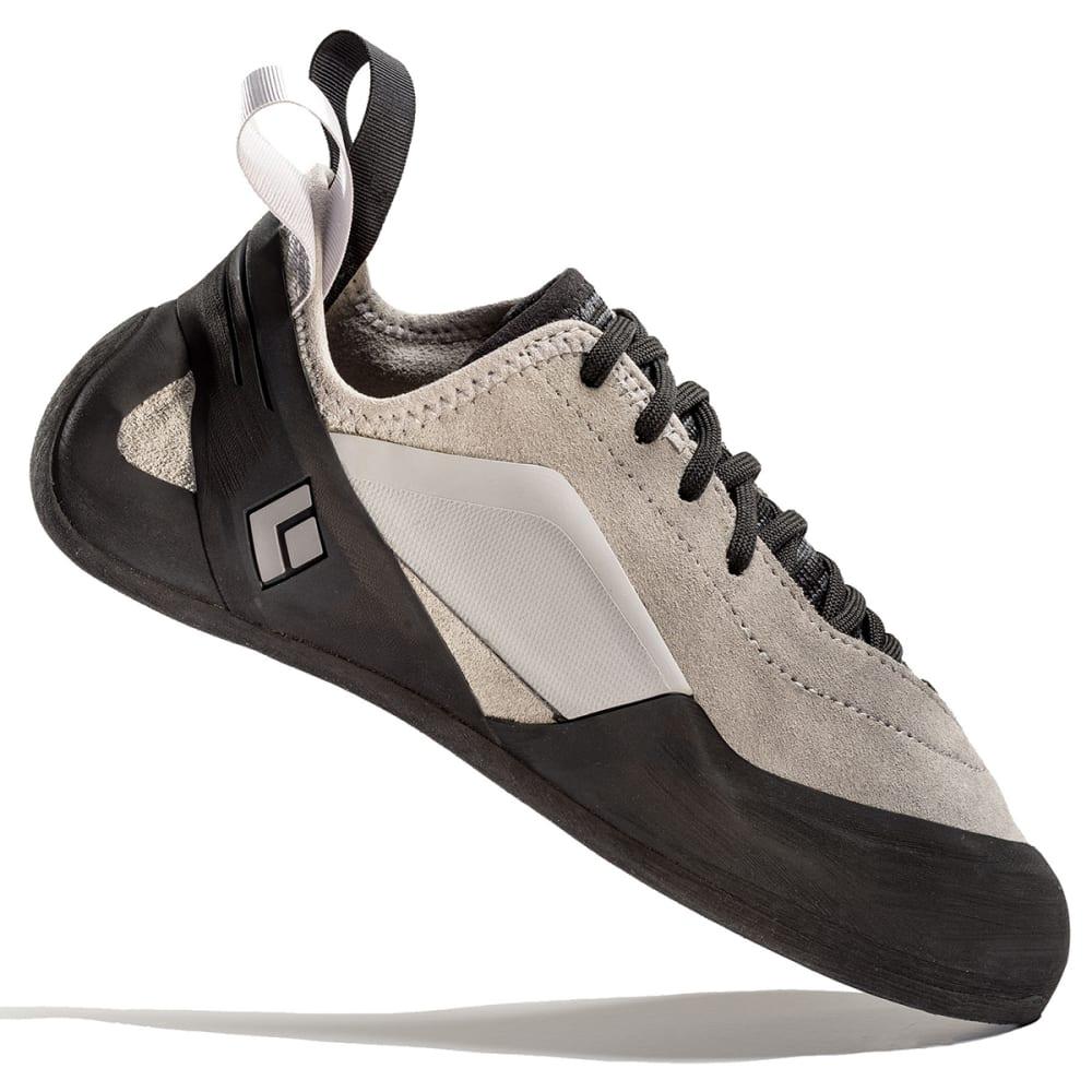 BLACK DIAMOND Men's Aspect Climbing Shoes - ALUMINUM