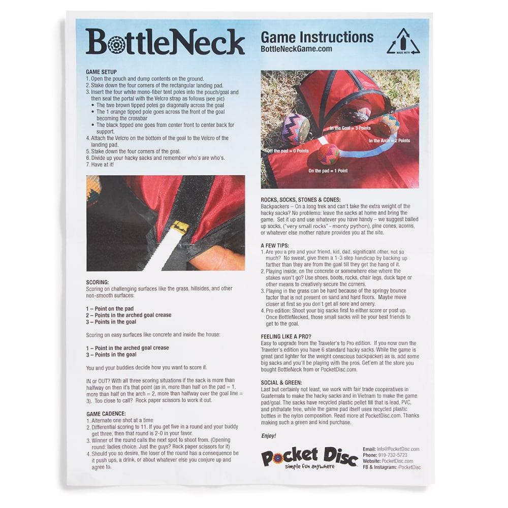 POCKET DISK BottleNeck Hacky Sack Game - NO COLOR