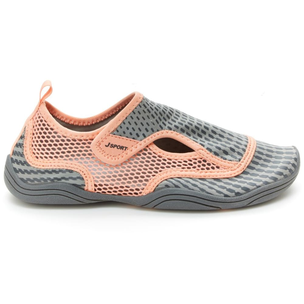JSPORT Women's Mermaid Water Shoes - GRY/PET-SJ16MER19