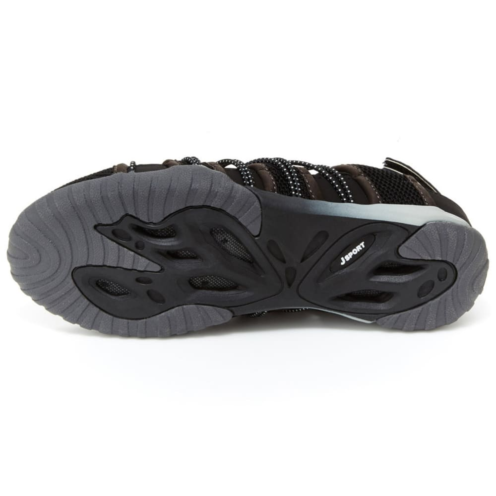 JSPORT Women's Newbury Water Shoes - BLK/WHT-SJ18NWB01