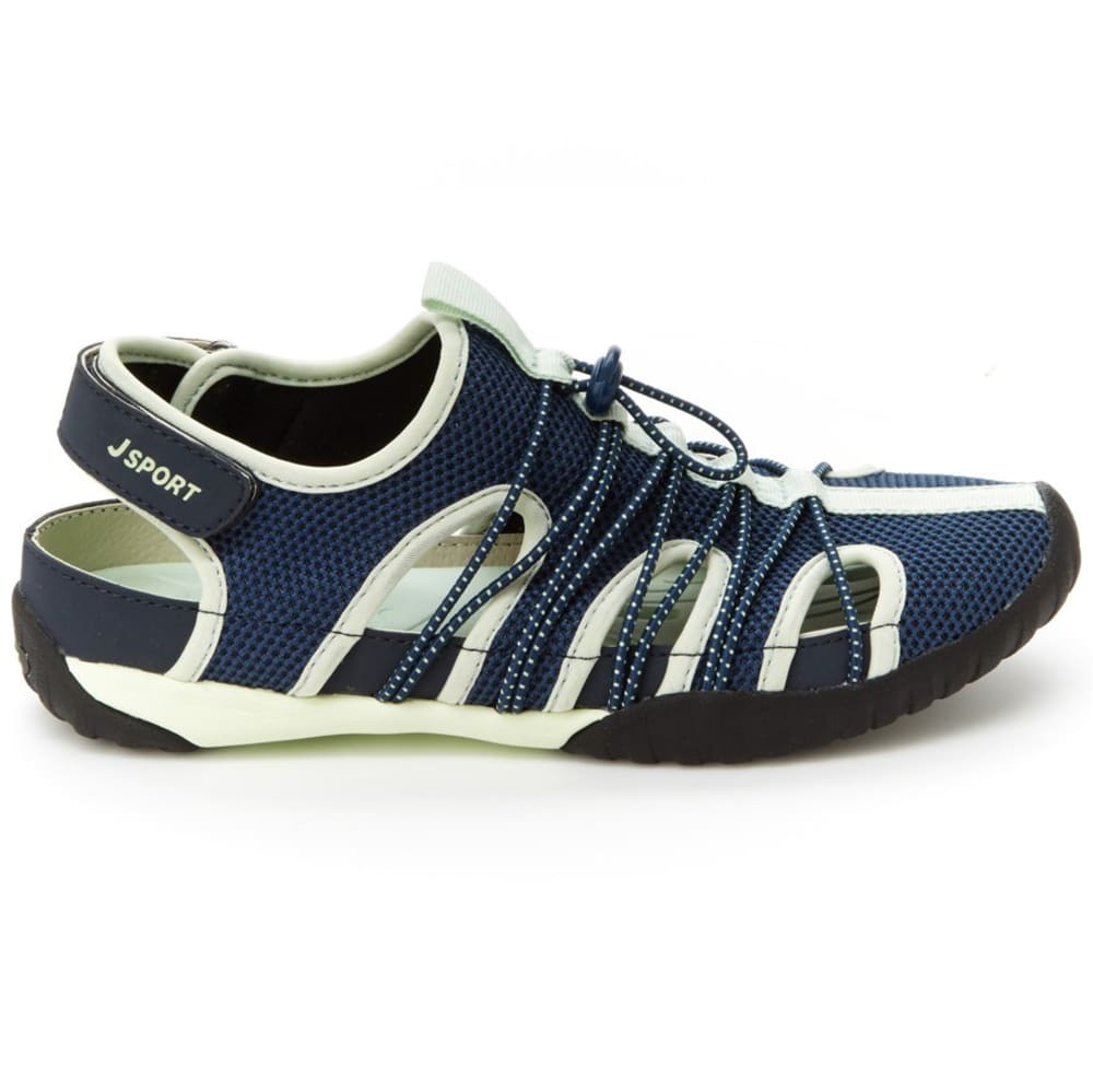 JSPORT Women's Newbury Water Shoes - NVY/PIST-SJ18NWB73