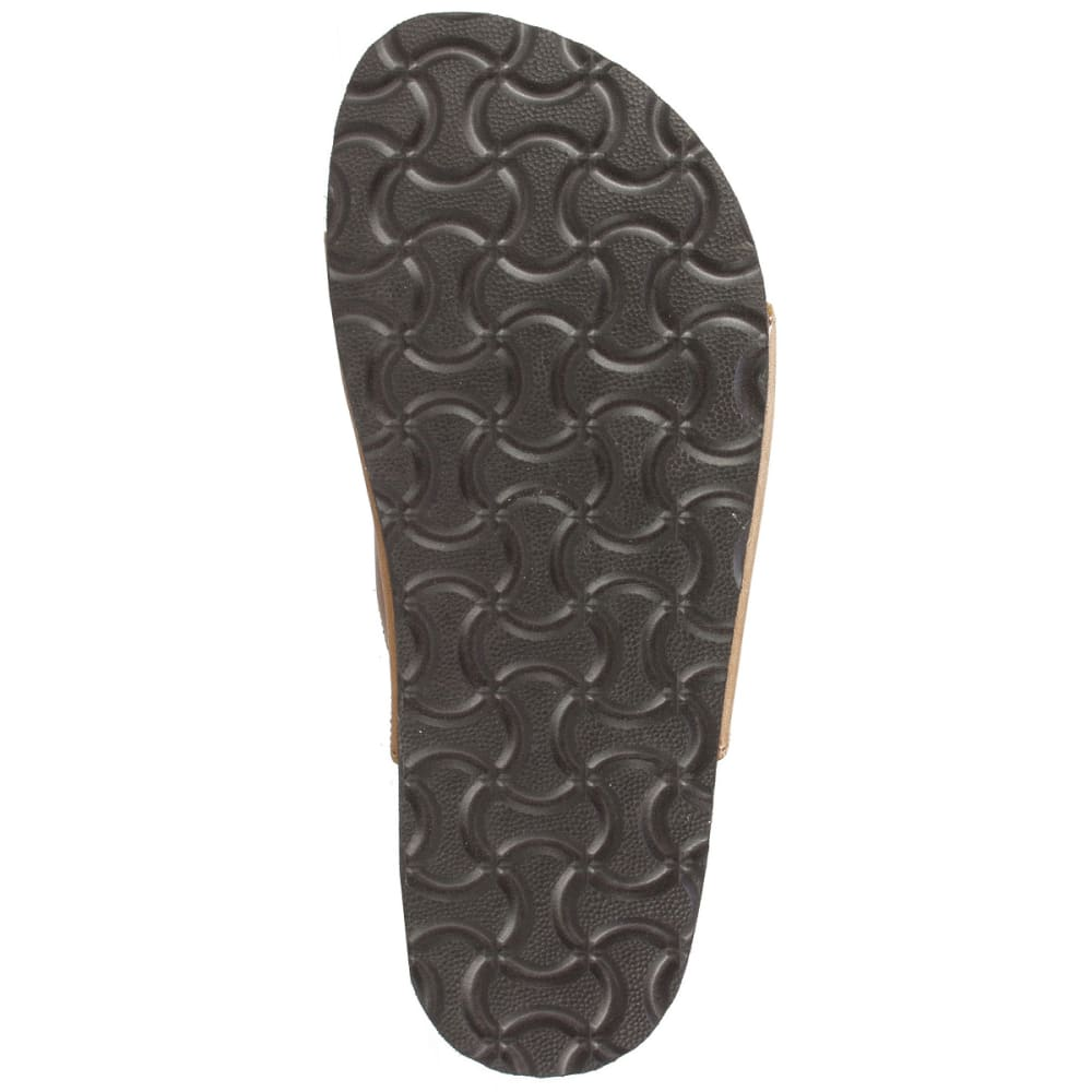 WHITE MOUNTAIN Women's Helga Double-Buckle Sandals - WHISKEY