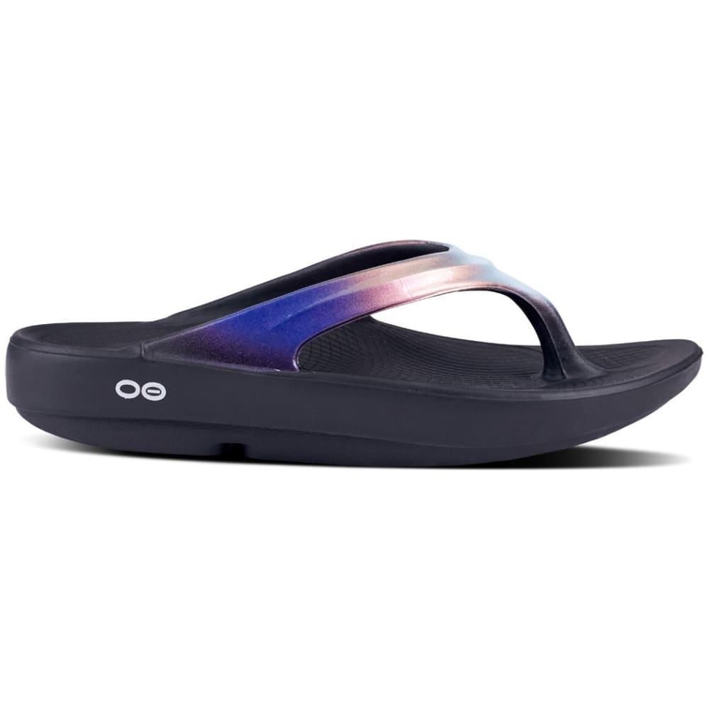 OOFOS Women's OOlala Luxe Thong Sandals - CALYPSO
