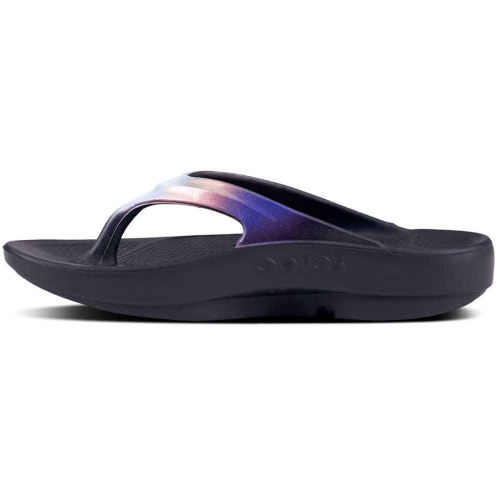 329079fc37f OOFOS Women s OOlala Luxe Thong Sandals - Eastern Mountain Sports