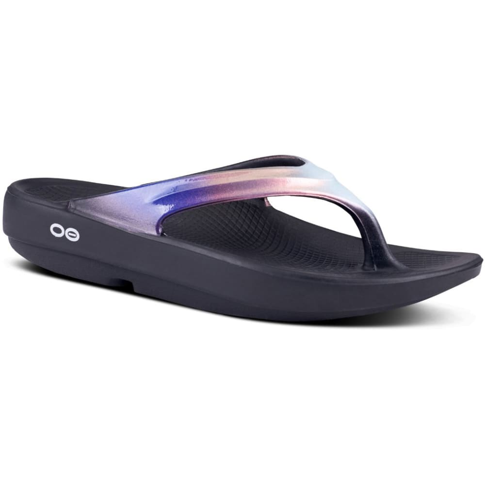 OOFOS Women's OOlala Luxe Thong Sandals - CALYPSO