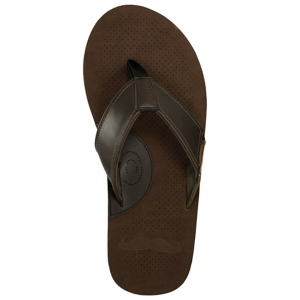 COBIAN Men's Movember Sandals - BROWN