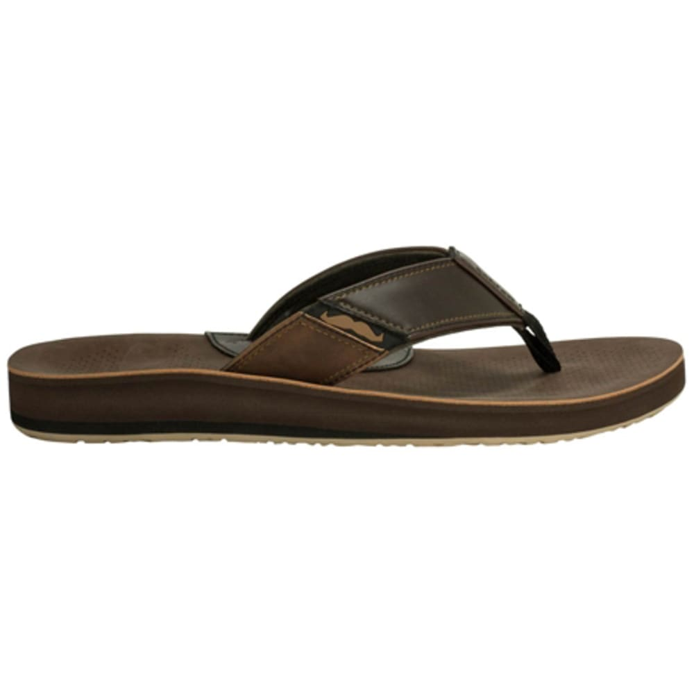 COBIAN Men's Movember Sandals - BROWN