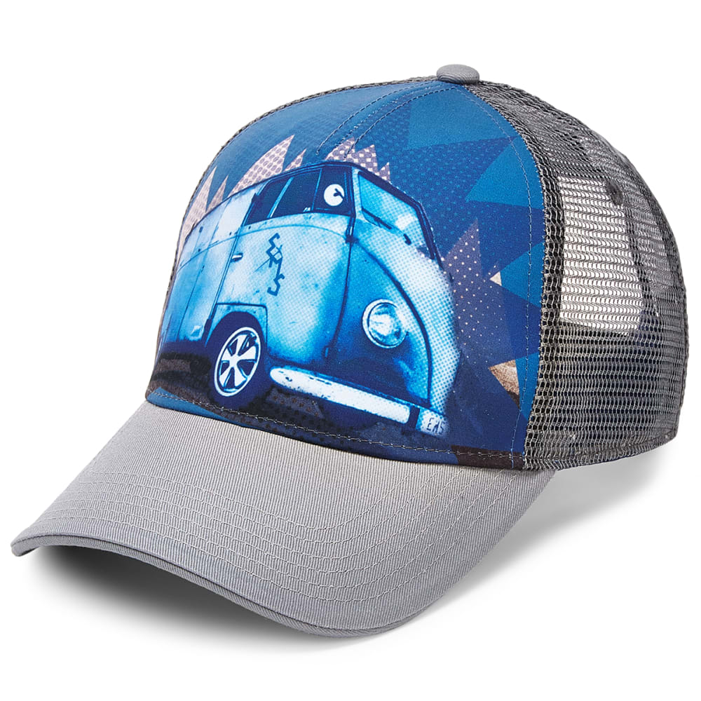 EMS Men's Take The Bus Trucker Hat - VINTAGE INDIGO