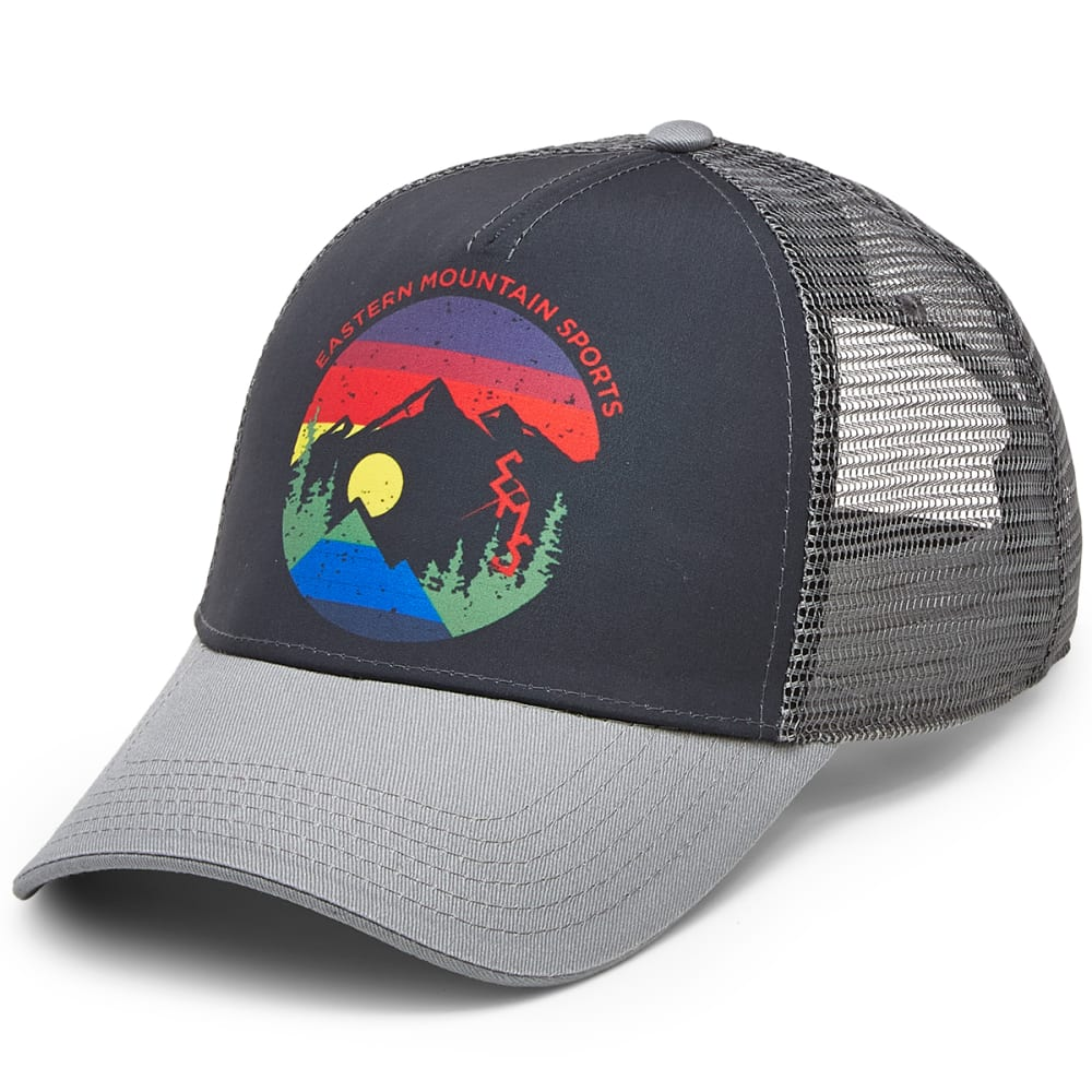 EMS® Men's Heritage Trucker Hat - PHANTOM