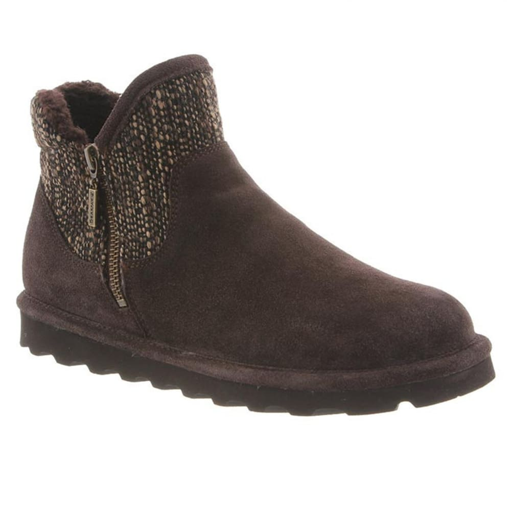 BEARPAW Women's Josie Boots - CHOCOLATE