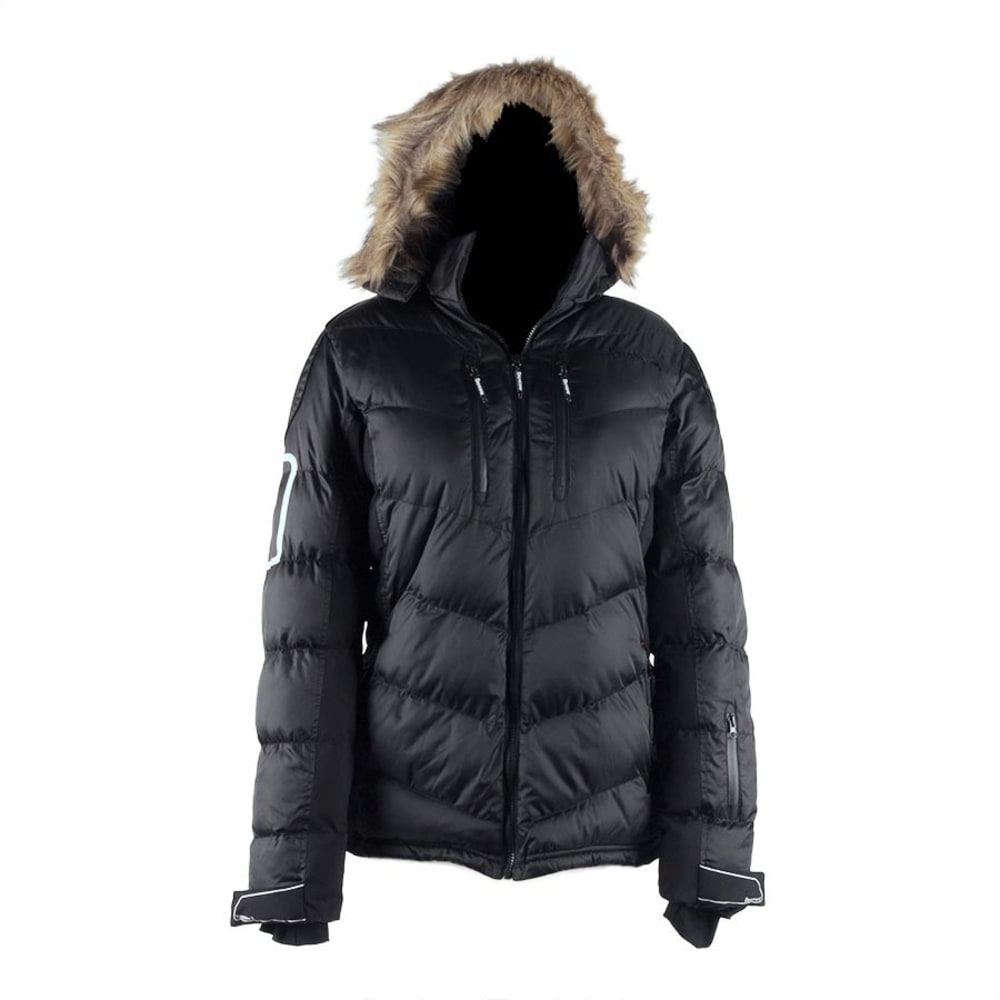 BEARPAW Women's Fairbanks Jacket - BLACK II