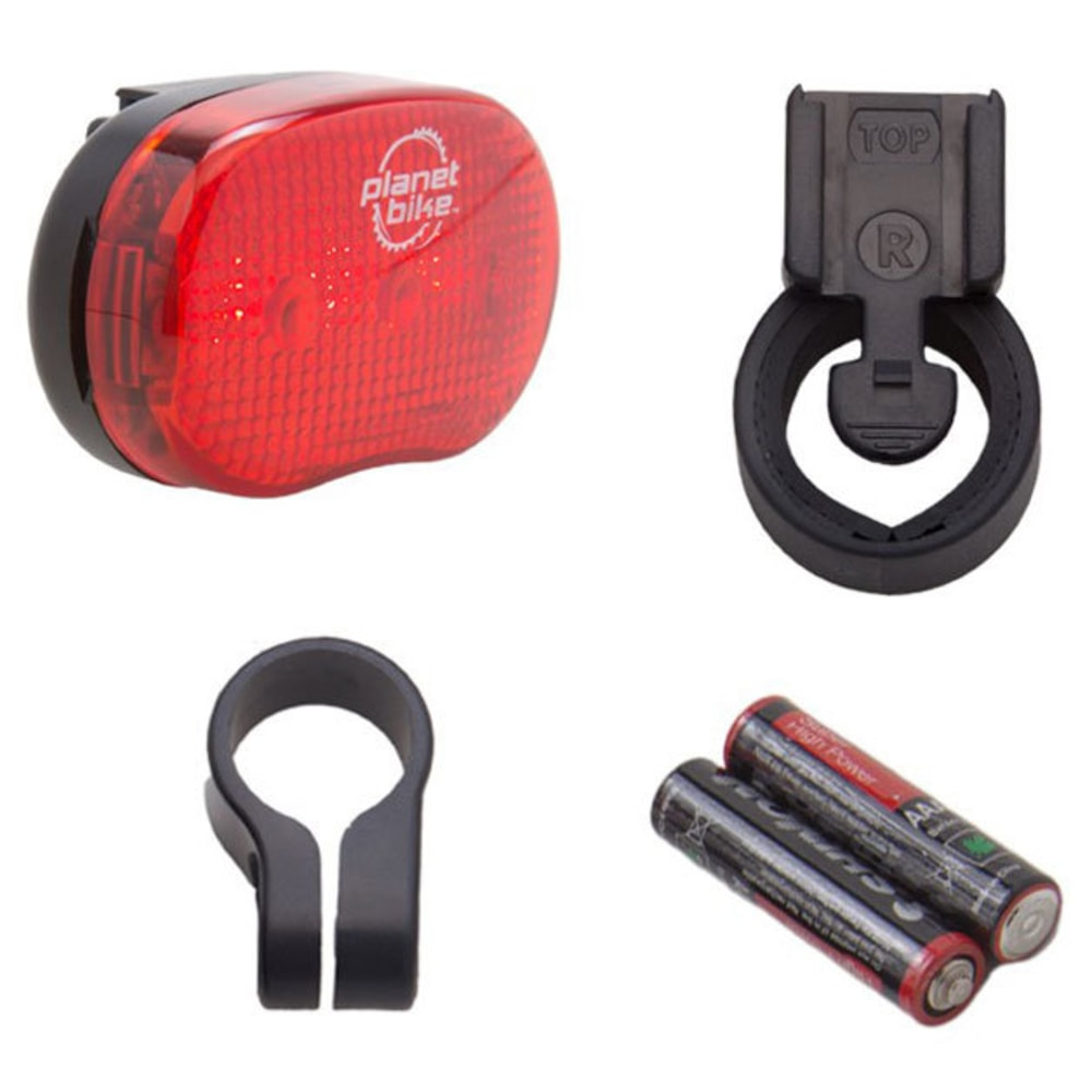 PLANET BIKE Blinky 3 Bike Tail Light - RED
