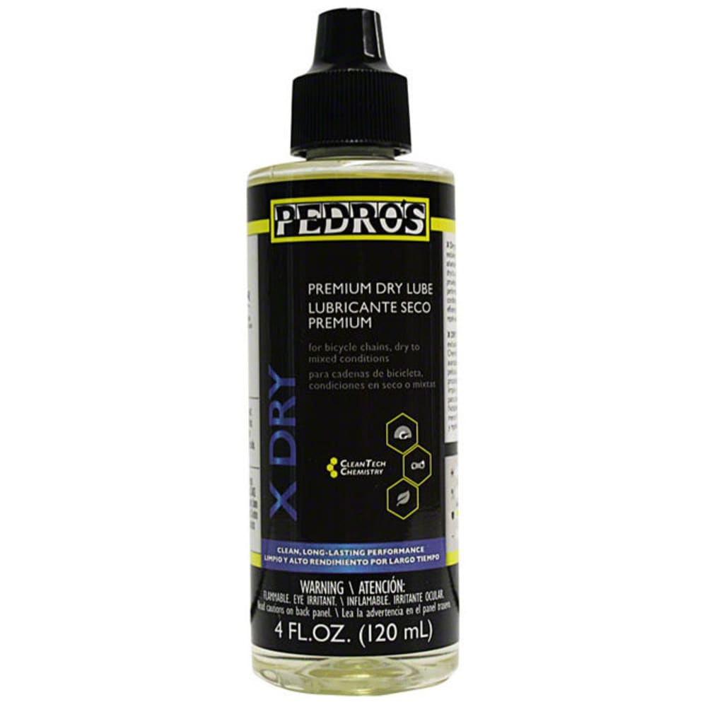 PEDRO'S X-Dry Premium Dry Chain Lube - NO COLOR