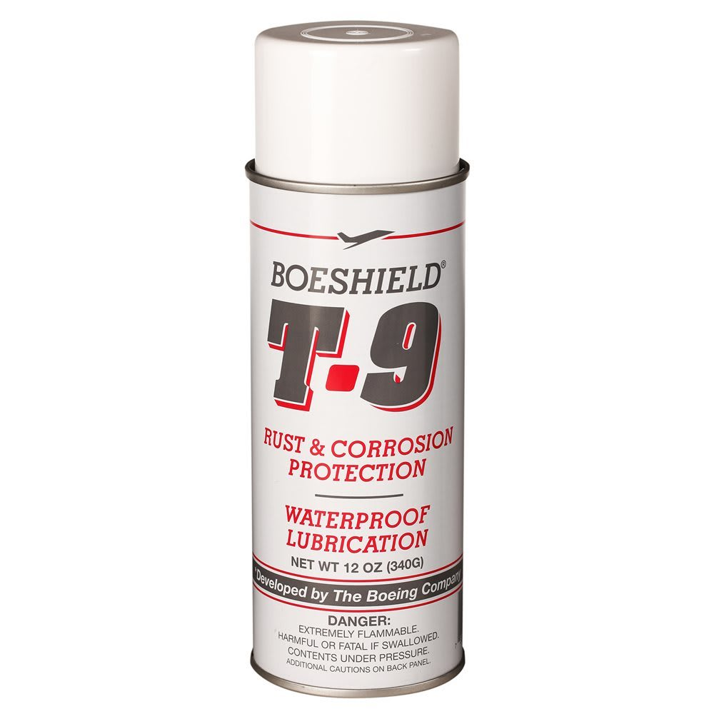 BOESHIELD T-9 Aerosol Chain Lubricant, 12 oz. - NO COLOR