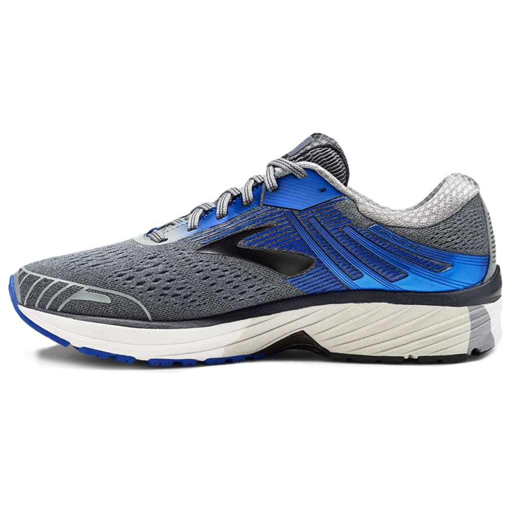 BROOKS Men's Adrenaline GTS 18 2E Running Shoes, Grey, Wide - GREY-015