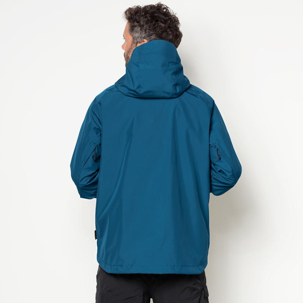 JACK WOLFSKIN Men's Sierra Trail Hardshell Jacket - 1121 GLACIER BLUE