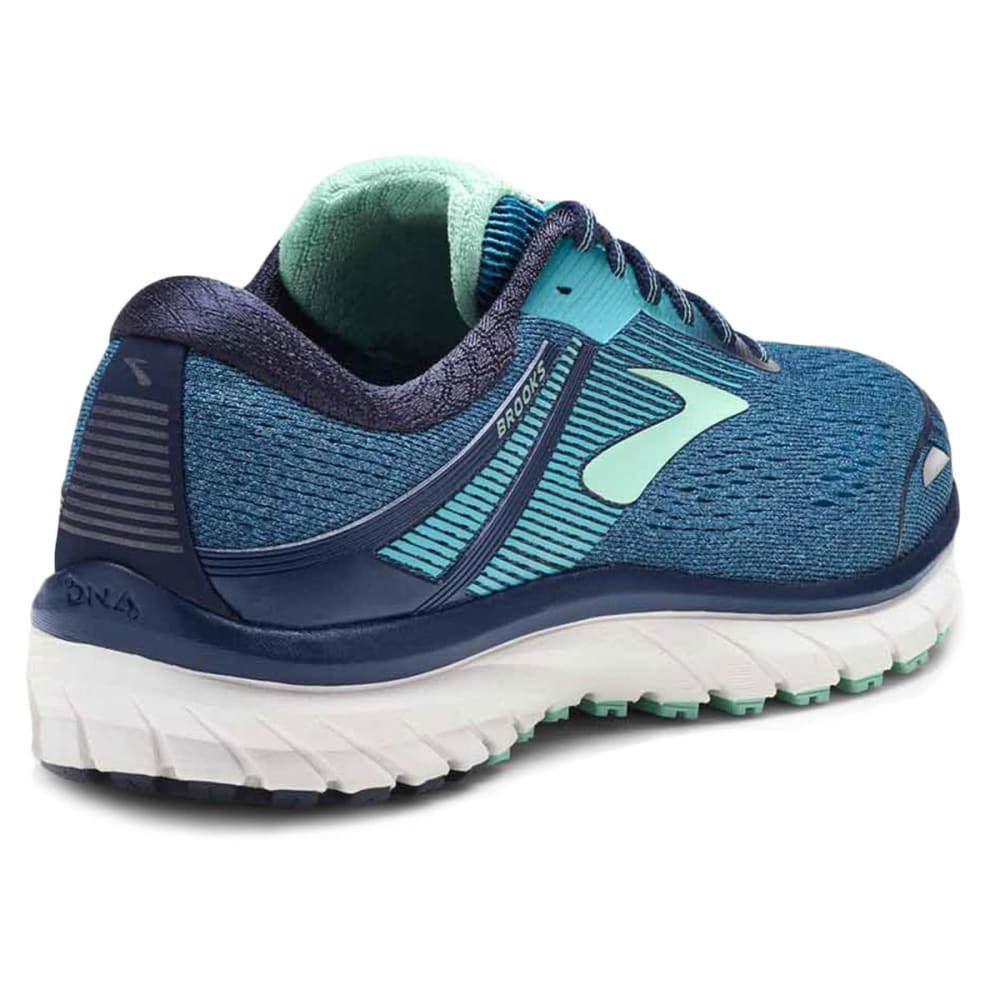BROOKS Women's Adrenaline GTS 18 Running Shoes, Navy - NAVY-495