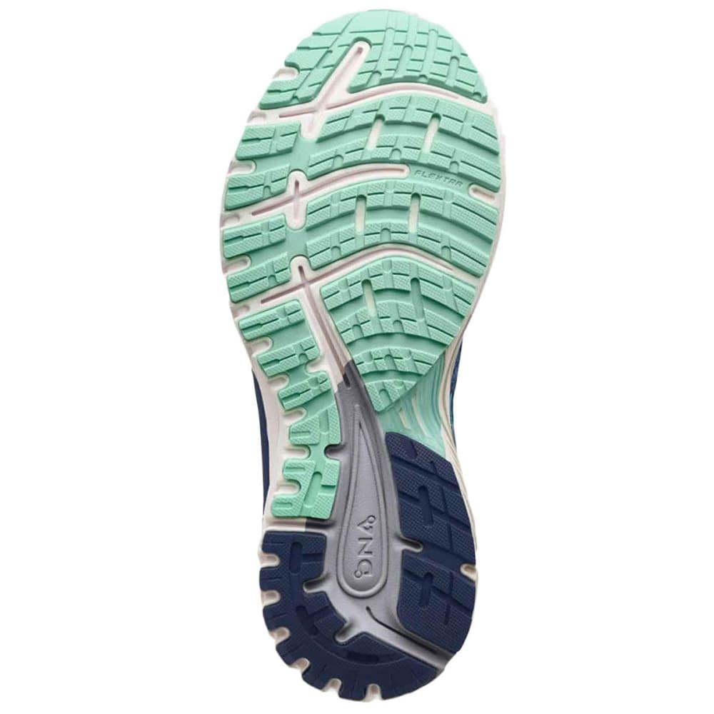 BROOKS Women's Adrenaline GTS 18 Running Shoes, Navy, Wide - NAVY-495