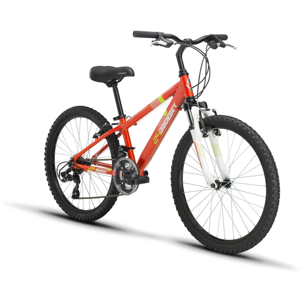 DIAMONDBACK Kids' Octane 24 Bike - GLOSS ORANGE