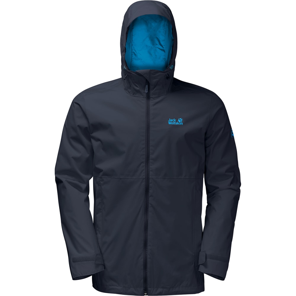JACK WOLFSKIN Men's Arroyo Hardshell Jacket - 1010 NIGHT BLUE