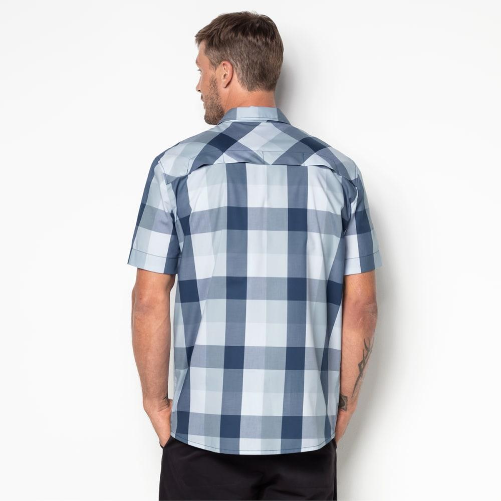 JACK WOLFSKIN Men's Fairford Shirt - 7919 OCEAN WAVE