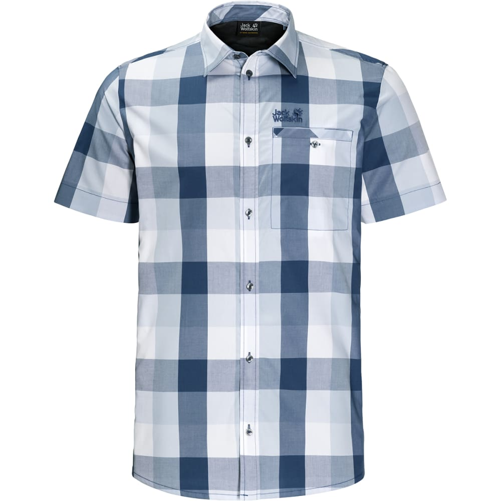 JACK WOLFSKIN Men's Fairford Shirt - 7919 OCEAN WAVE