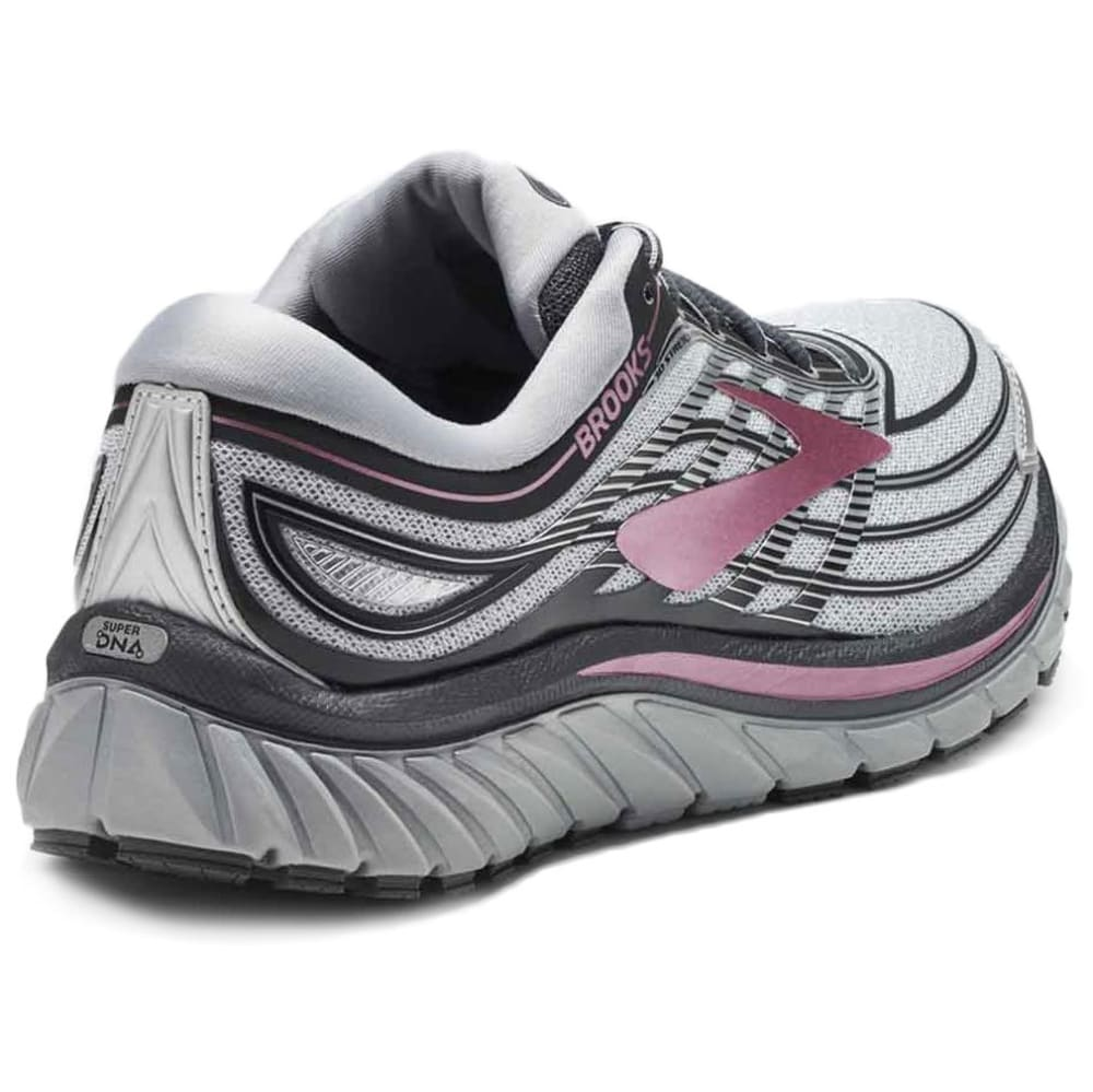 BROOKS Women's Glycerin 15 Running Shoes, Silver - SILVER - 057