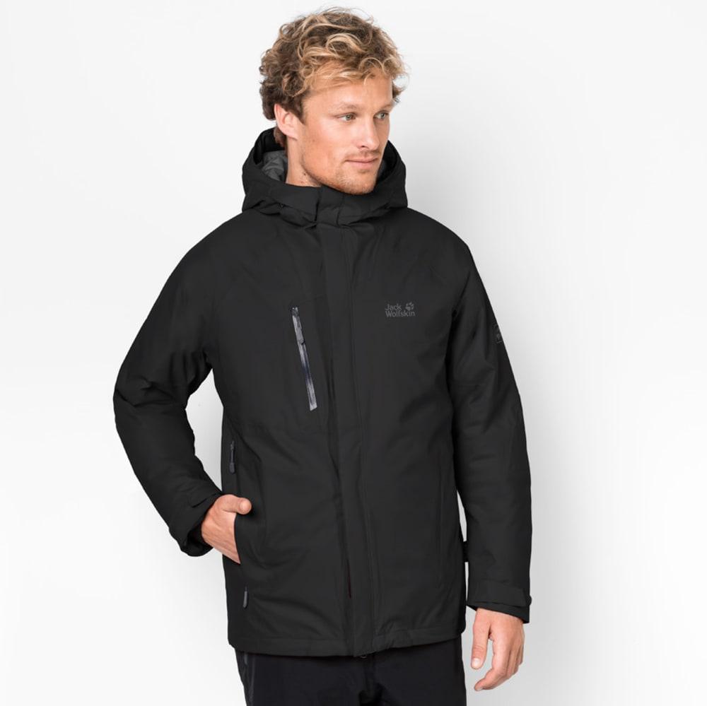 JACK WOLFSKIN Men's Troposphere Jacket - 6000 BLACK