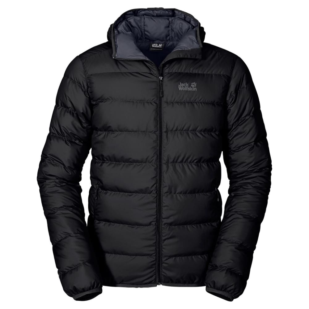 JACK WOLFSKIN Men's Helium Jacket - 6000 BLACK