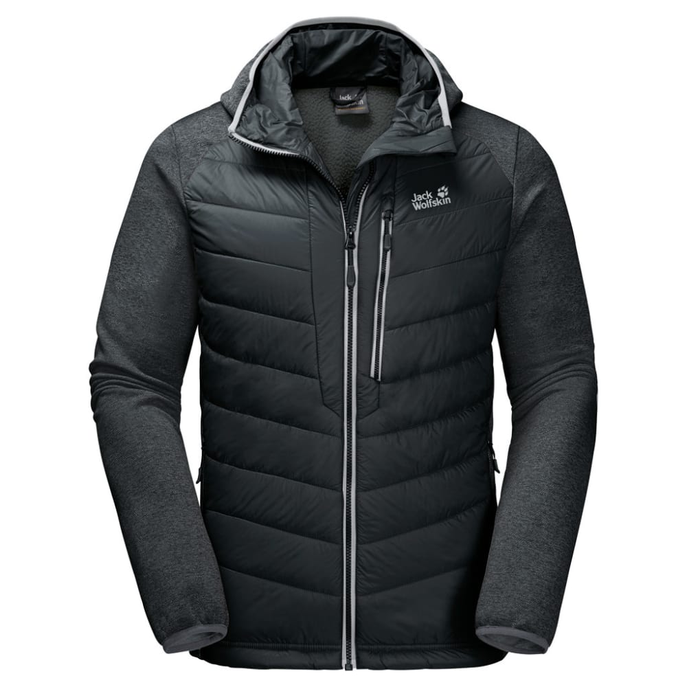 JACK WOLFSKIN Men's Skyland Crossing Jacket - 6000 BLACK
