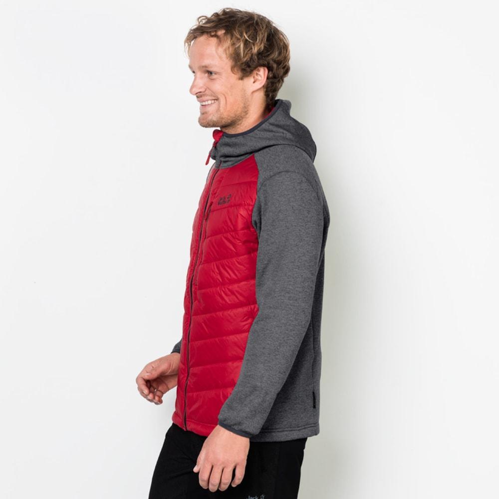 JACK WOLFSKIN Men's Skyland Crossing Jacket - 2505 RUBY RED