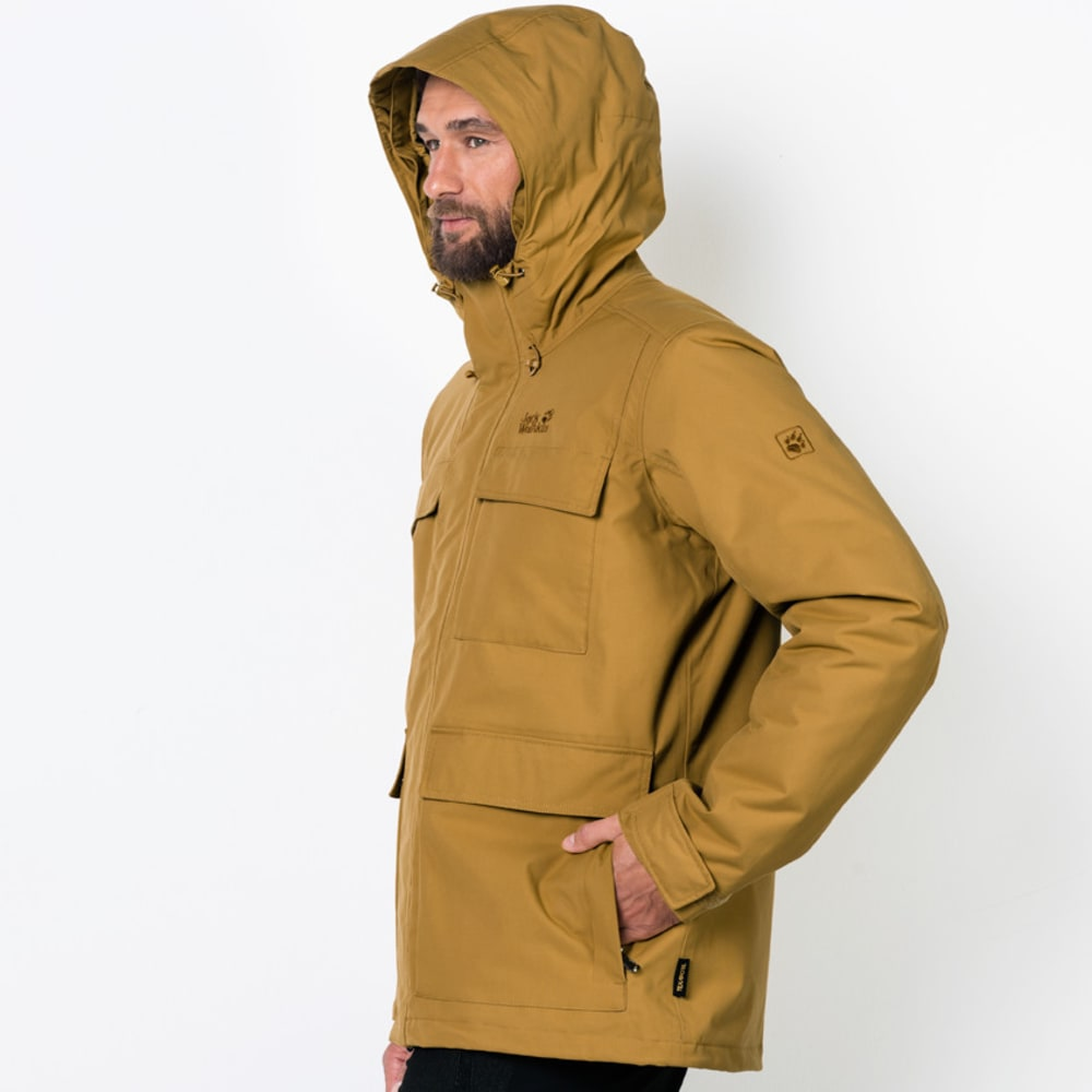 Point Barrow Men's Waterproof Jacket, Golden Amber