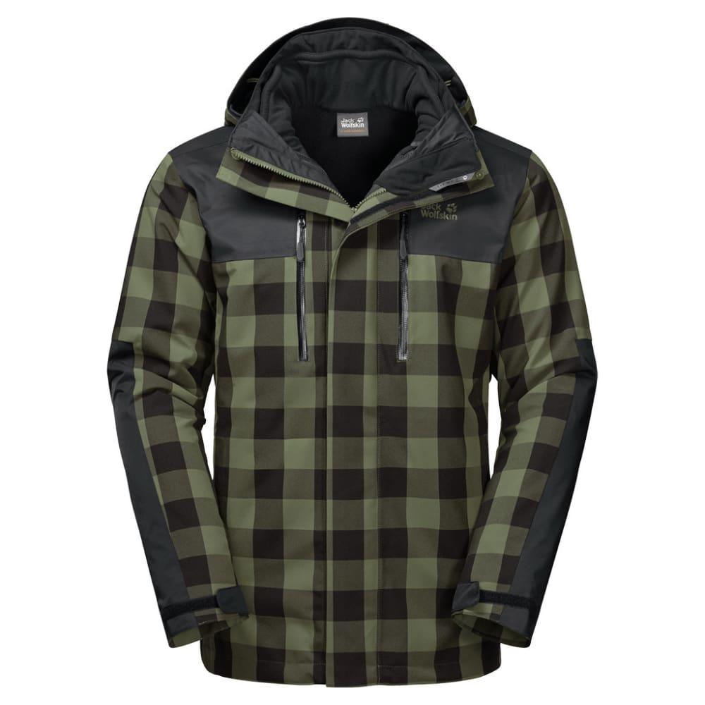 JACK WOLFSKIN Men's Timberwolf 3-in-1 Jacket S