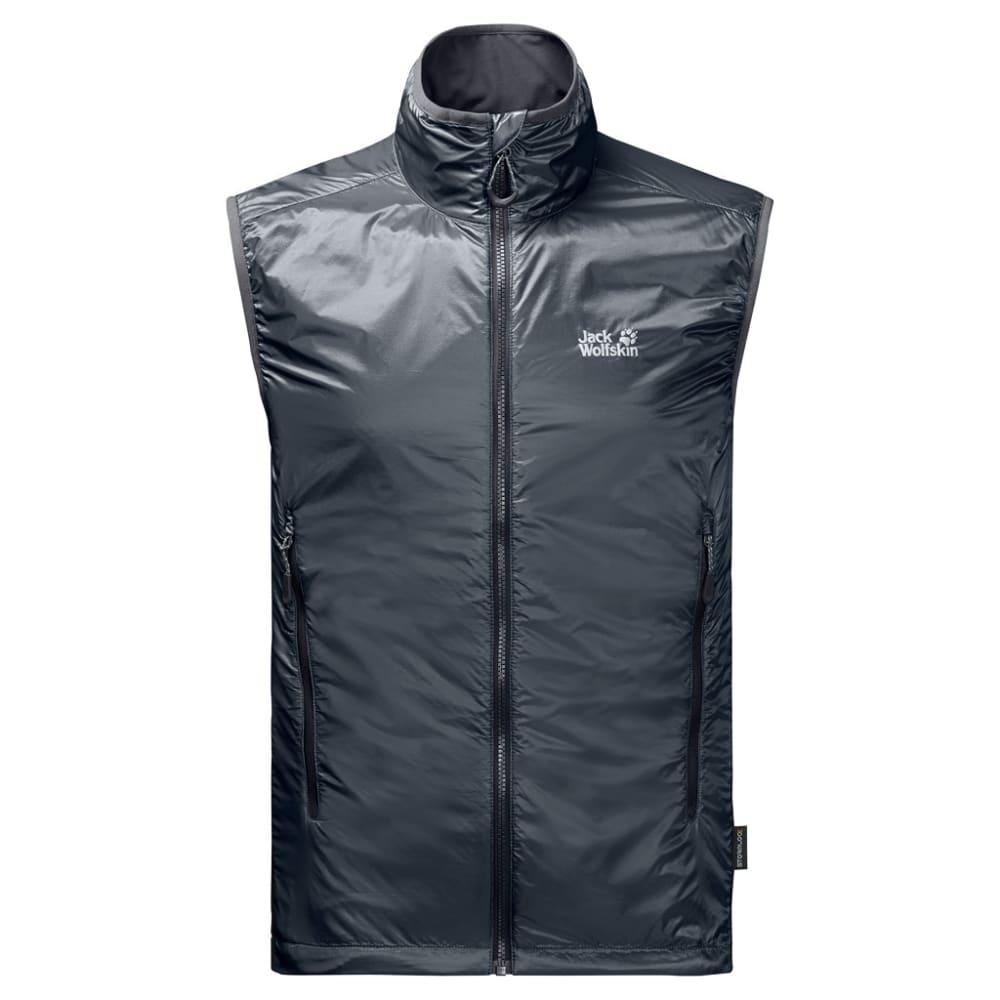 JACK WOLFSKIN Men's Air Lock Vest - 6230 EBONY