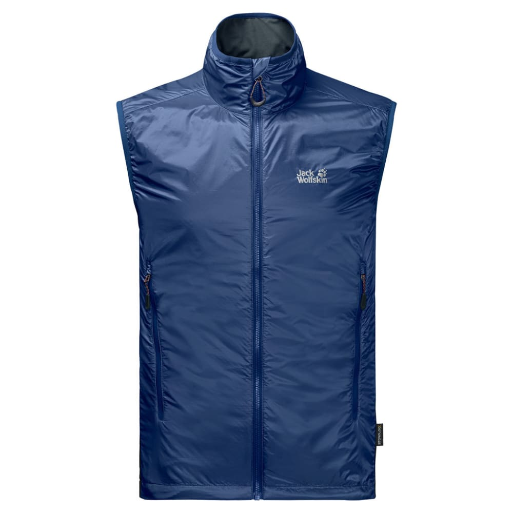 JACK WOLFSKIN Men's Air Lock Vest - 1505 ROYAL BLUE