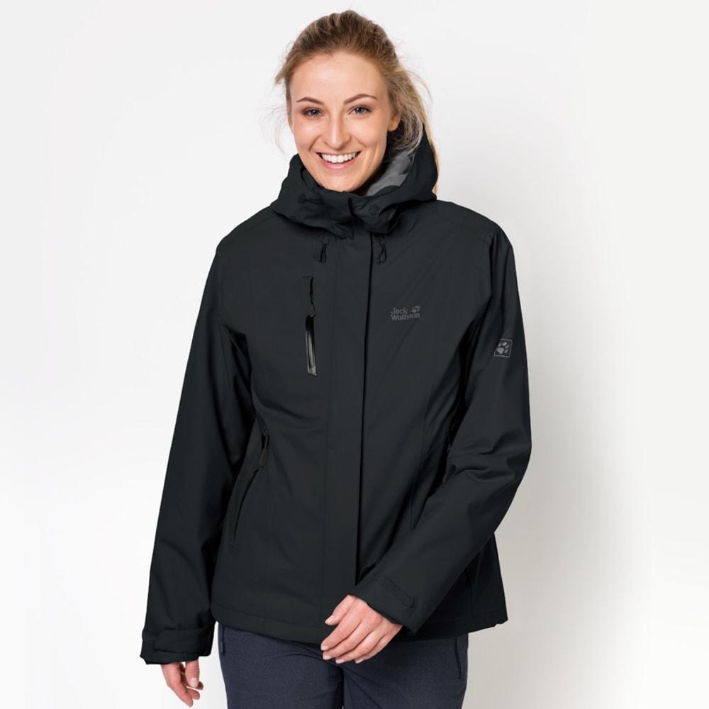 JACK WOLFSKIN Women's Troposphere Jacket - 6000 BLACK