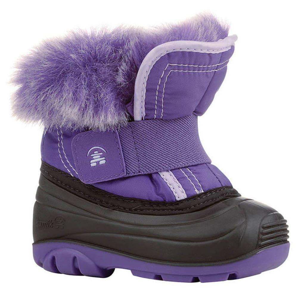 KAMIK Toddler Girls' Sugarplum Insulated Winter Boots - PURPLE