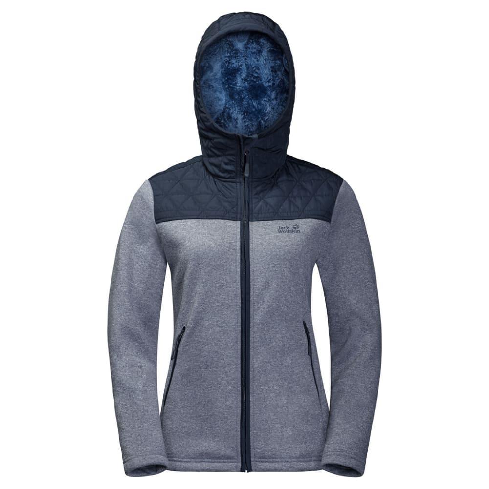 JACK WOLFSKIN Women's Pacific Sky Fleece Jacket - 1910 MIDNIGHT BLUE