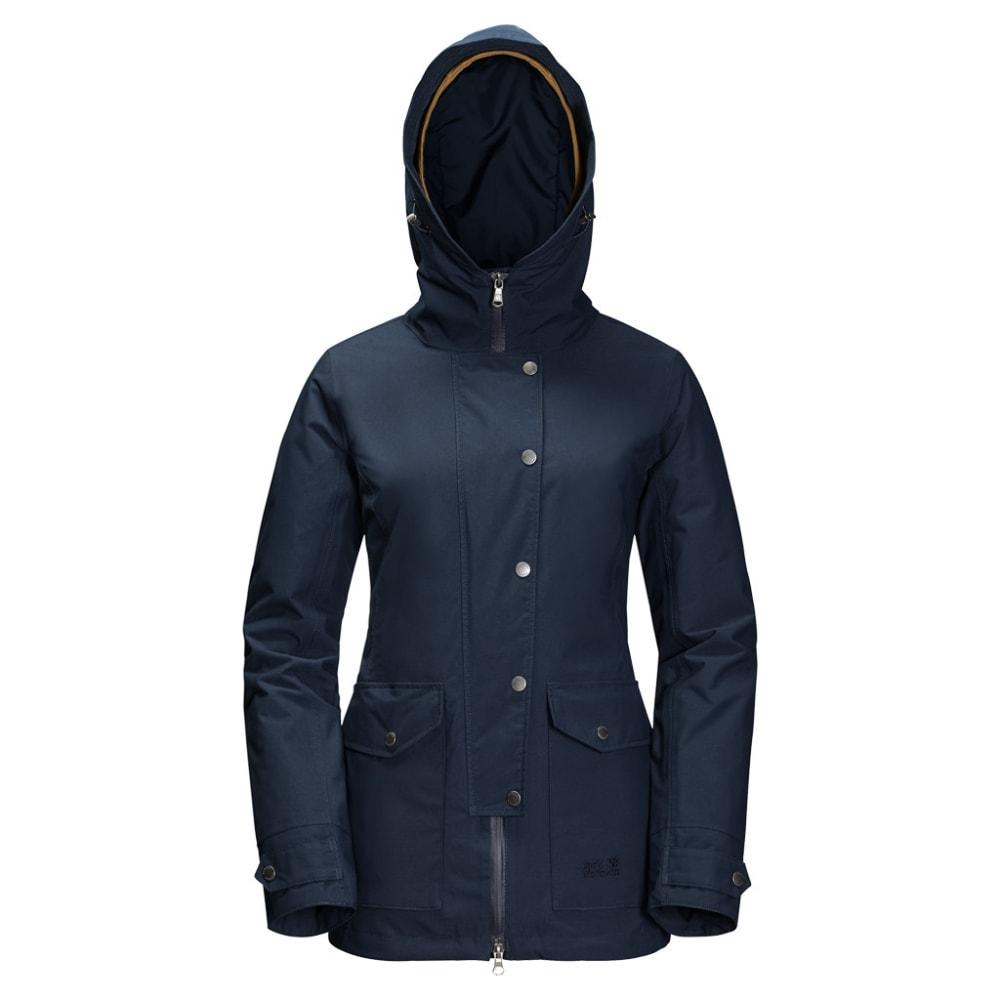 JACK WOLFSKIN Women's Devon Island 3-in-1 Jacket - 1910 MIDNIGHT BLUE