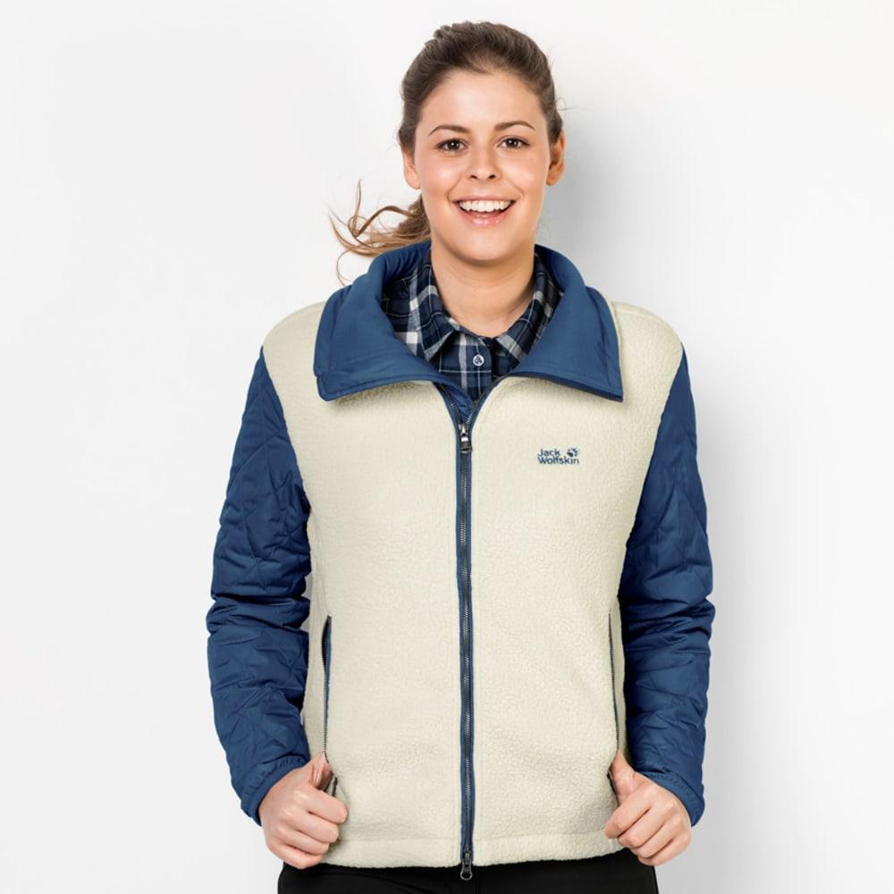 JACK WOLFSKIN Women's Dawson Crossing Fleece Jacket - 1165 DARK SKY