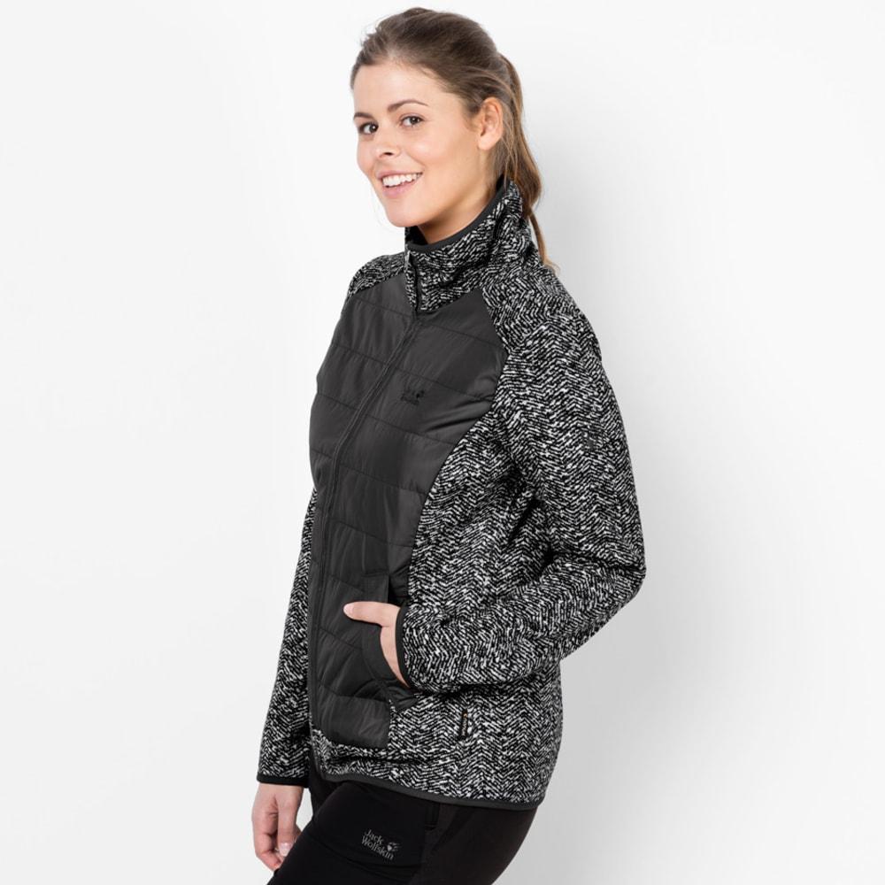 JACK WOLFSKIN Women's Belleville Fleece Jacket - 7544 BLACK ALL OVER