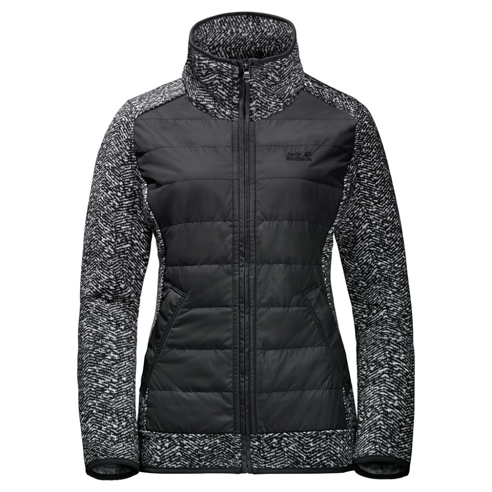 JACK WOLFSKIN Women's Belleville Fleece Jacket - 7544 BLACK ALL OVER