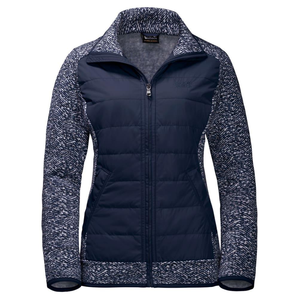JACK WOLFSKIN Women's Belleville Fleece Jacket - 7775 MIDN BL ALL OVE