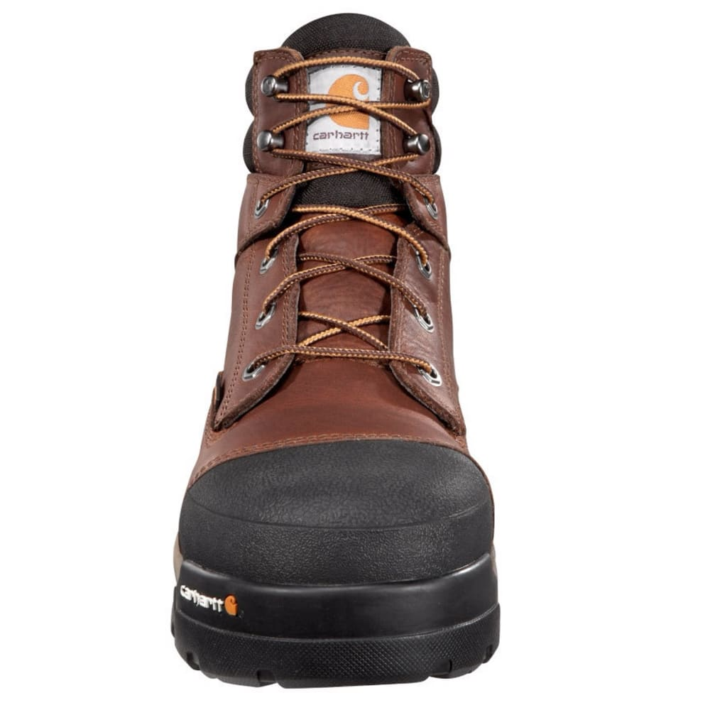CARHARTT Men's 6-Inch Ground Force Work Boots - PEANUT OIL TAN LTHR