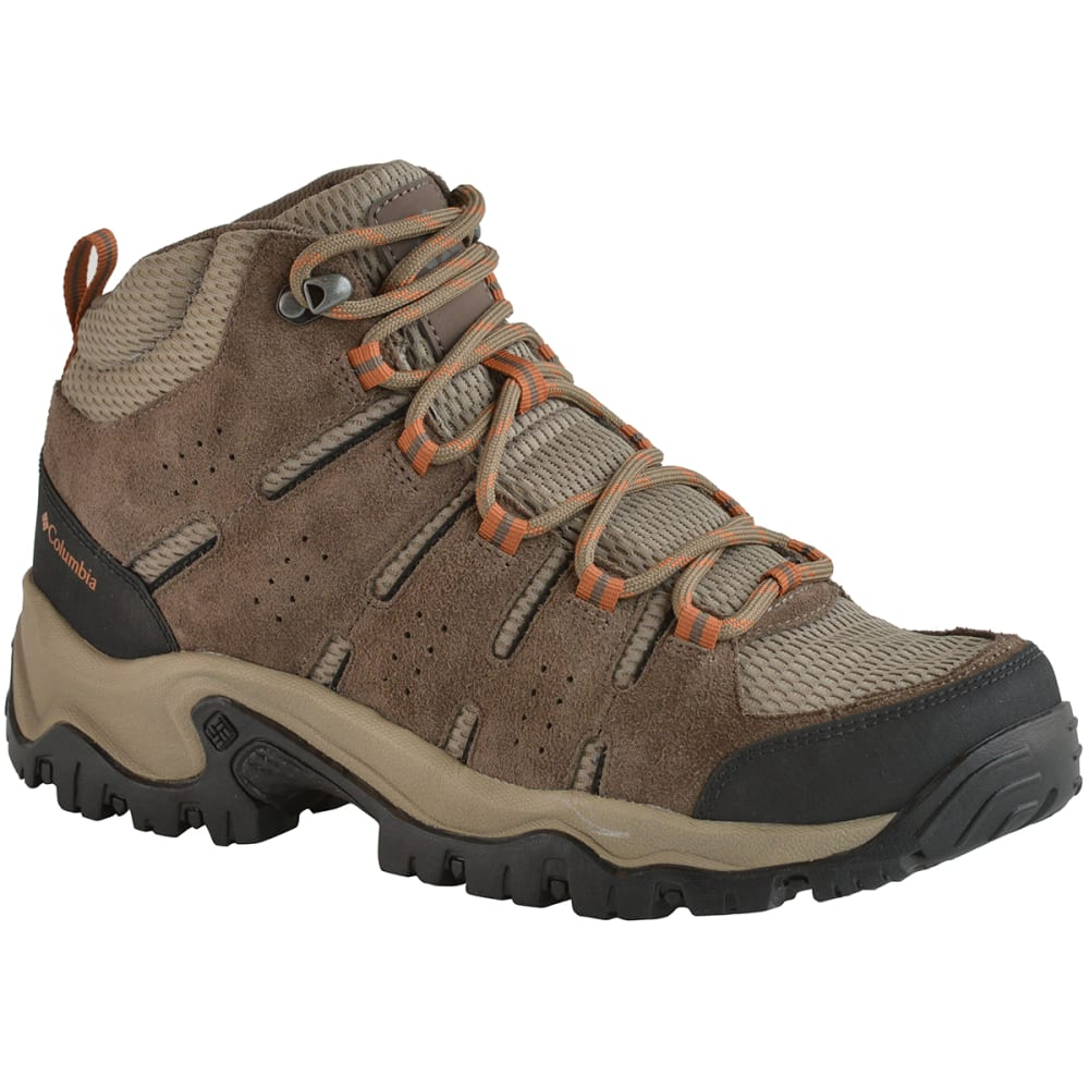 COLUMBIA Men's Lakeview Mid Hiking Boots - PEBBLE/DK GINGER