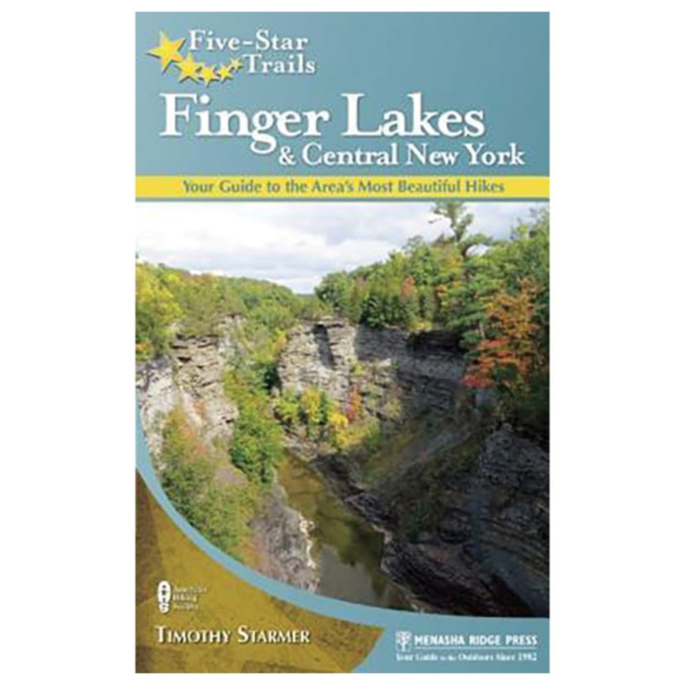 LIBERTY MOUNTAIN Five-Star Trails: Finger Lakes and Central New York - NO COLOR