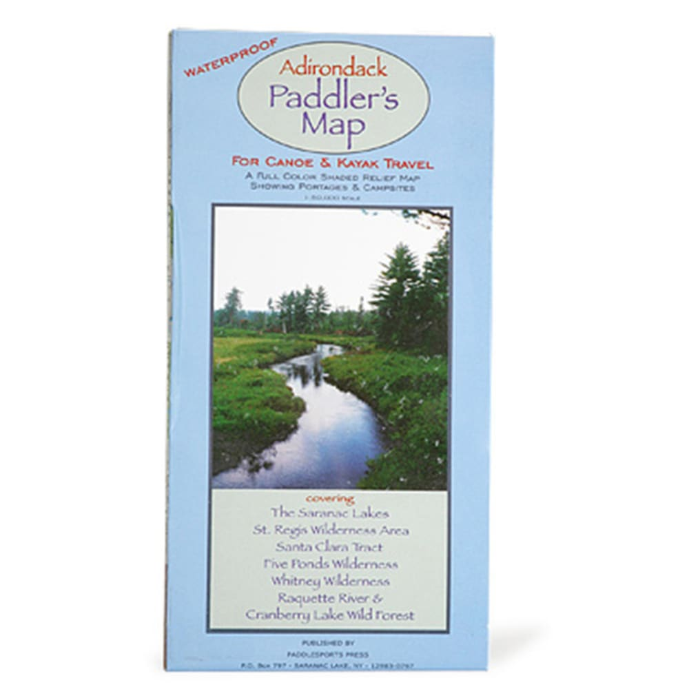 LIBERTY MOUNTAIN Adirondack Paddlers Guide - NO COLOR