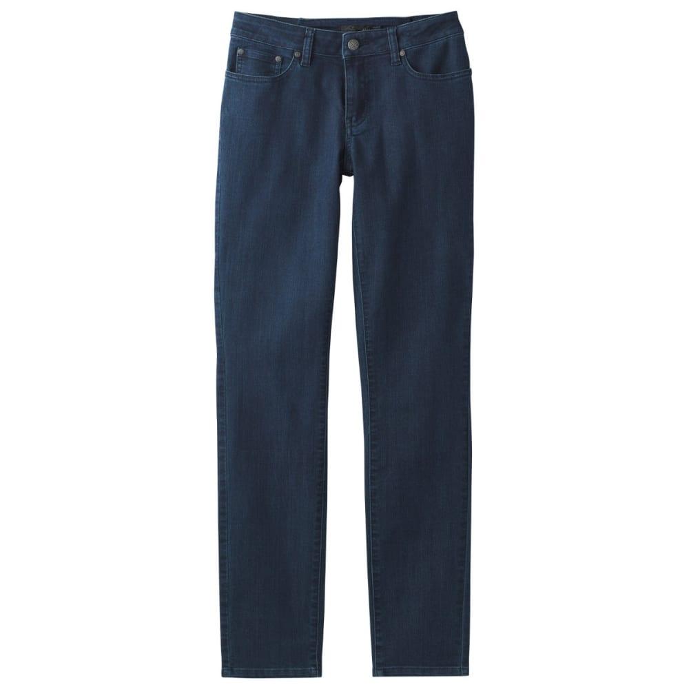 PRANA Women's Kayla Jean Mid-Rise Denim Jeans - INDIGO