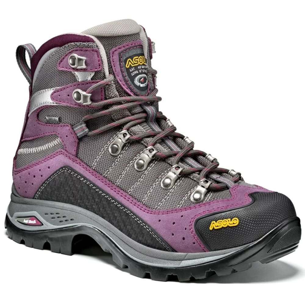 ASOLO Women's Drifter EVO GV Waterproof Mid Hiking Boots - GRAPEADE/STONE