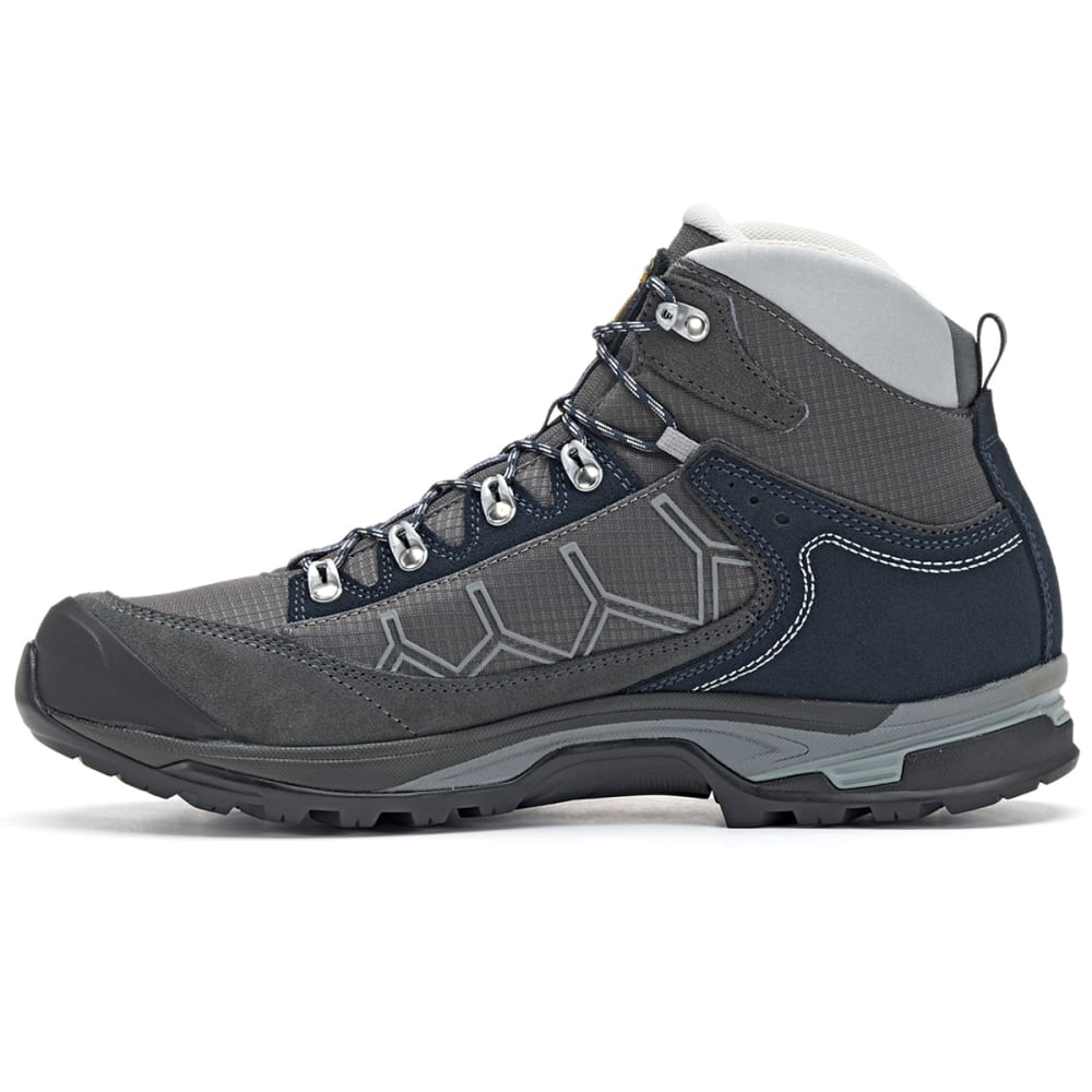 ASOLO Men's Falcon GV Mid Waterproof Hiking Boots - GRAPHITE/BLUEBERRY